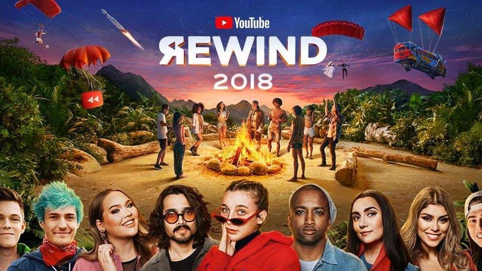 Das Youtube-Rewind-Video 2018 hat innerhalb einer Woche fast zehn Millionen Dislikes gesammelt.