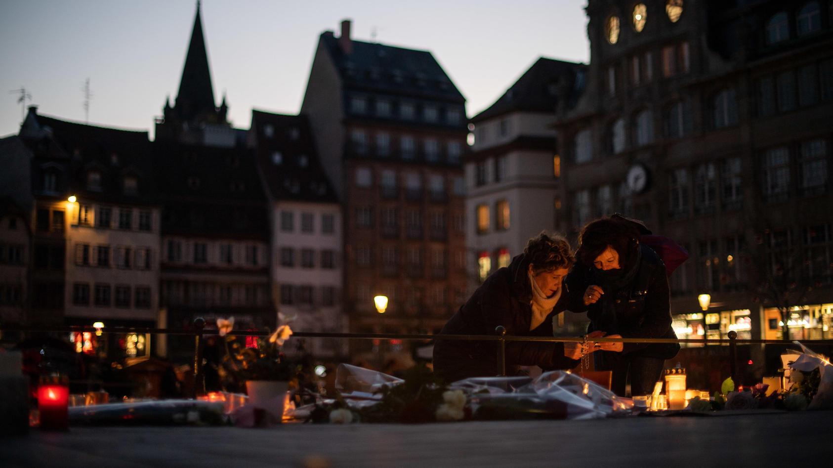 Straßburg: Fünf Tage nach dem Attentat nahe des Weihnachtsmarktes gibt es ein fünftes Todesopfer.
