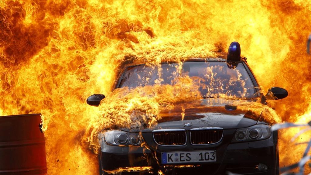 Alarm für Cobra 11: Die Dienstwagen der Autobahn-Cops werden am häufigsten geschrottet.