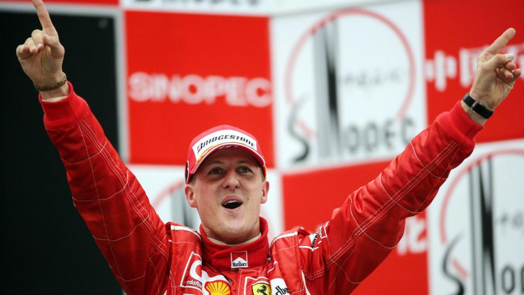 Michael Schumacher (Deutschland / Ferrari) heißt der Sieger des Großen Preises von China 2006