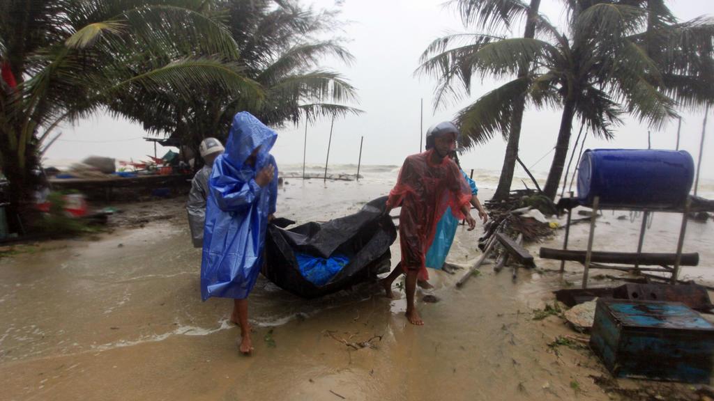 Seit Tagen regnet es in vielen Regionen Thailands