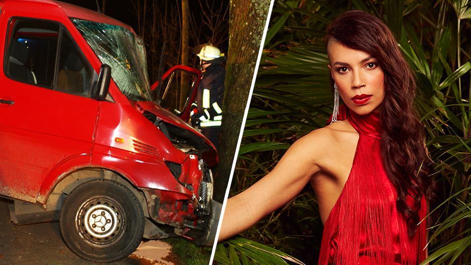 Dschungel-Kandidaten Gisele Oppermann spricht über ihren schweren Autounfall.