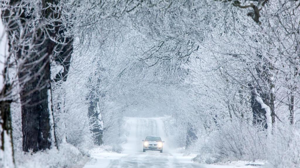 Winterwetter bringt neben der Eiseskälte auch Schnee im Westen.