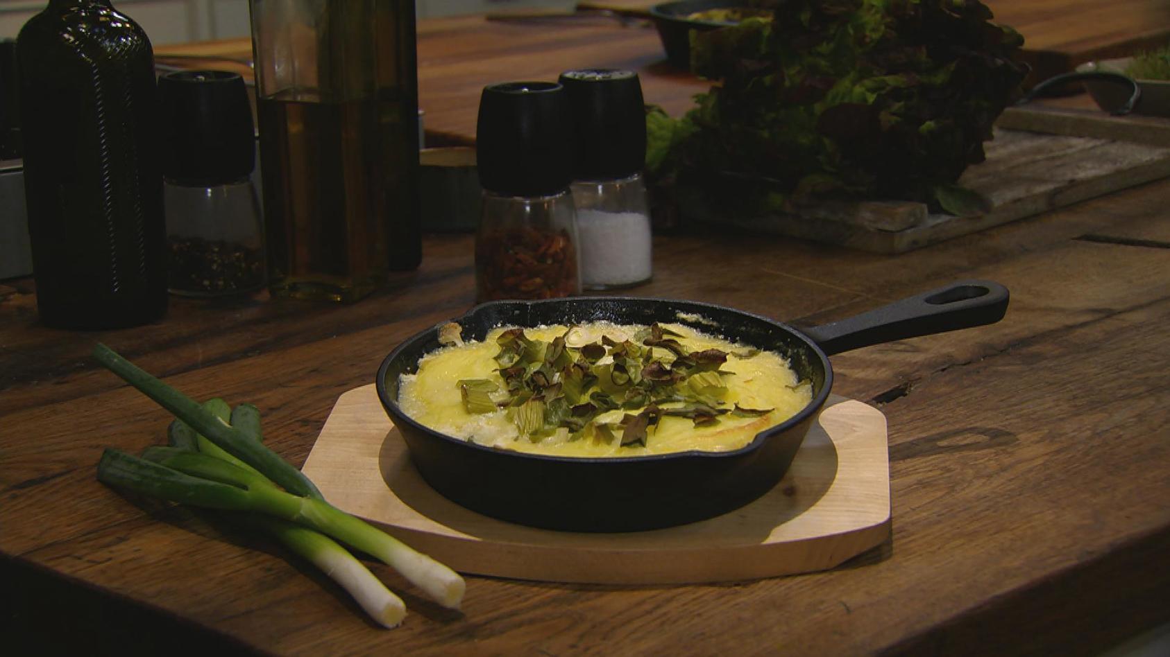 Ab in den Ofen – Leckere Aufläufe: Sauerkraut-Kasseler-Auflauf