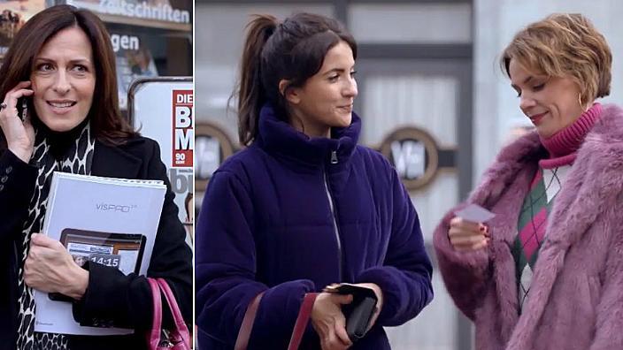 GZSZ: Katrin sieht wie Laura und Yvonne sich scheinbar schon annähern.