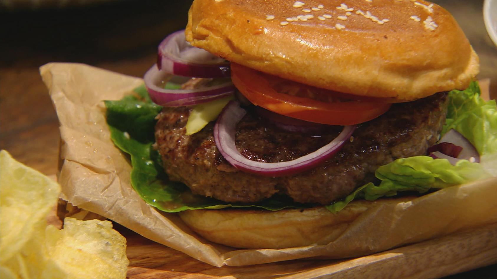 Gut BURGERlich: Klassischer Burger