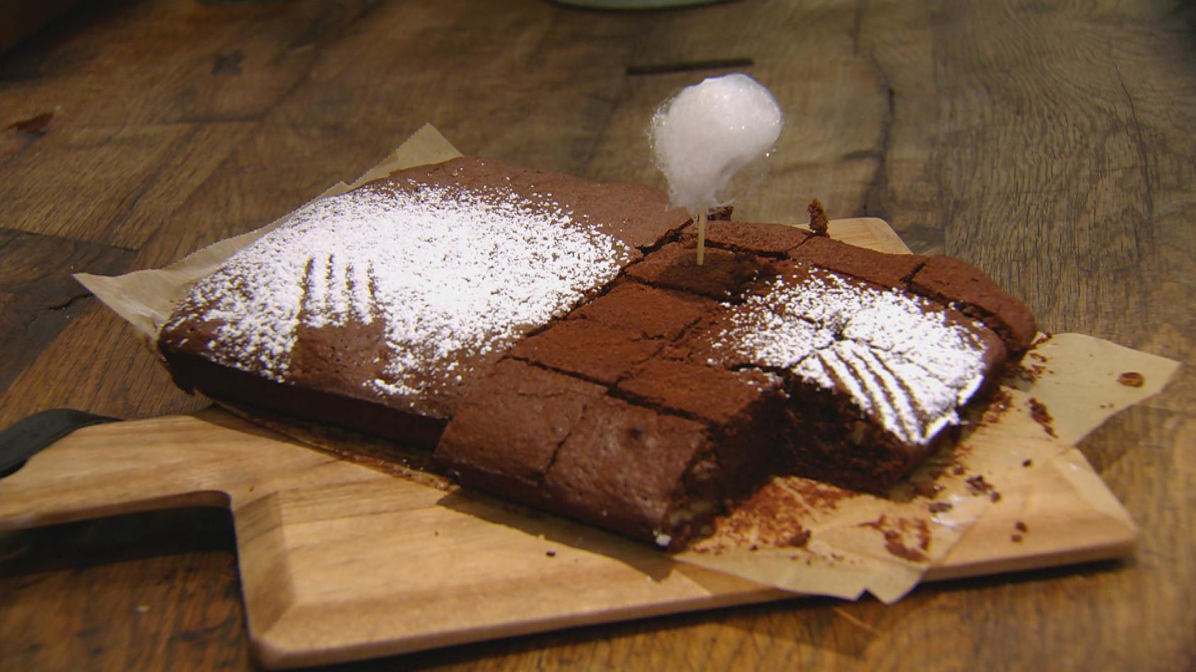 Gut BURGERlich: Schoko-Orangen-Brownies
