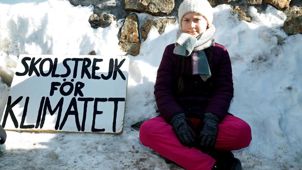 Die 16-jährige Greta Thunberg kämpft für das Klima.