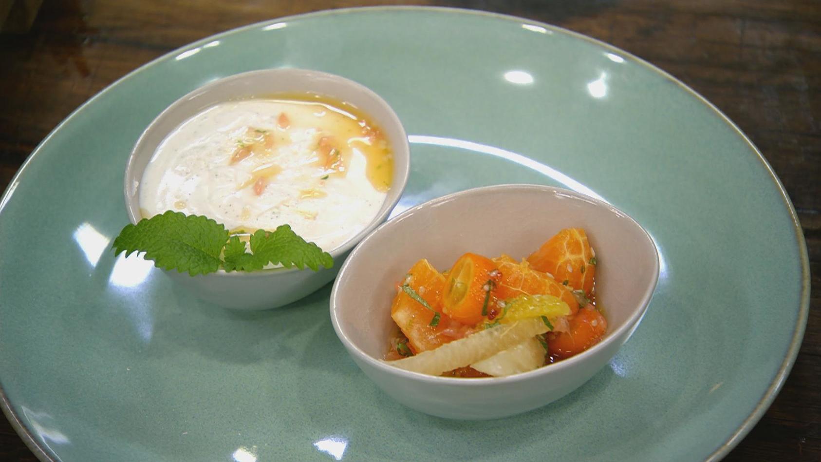 Sauer macht hungrig – Rund um die Zitrusfrucht: Joghurt-Limetten-Mousse