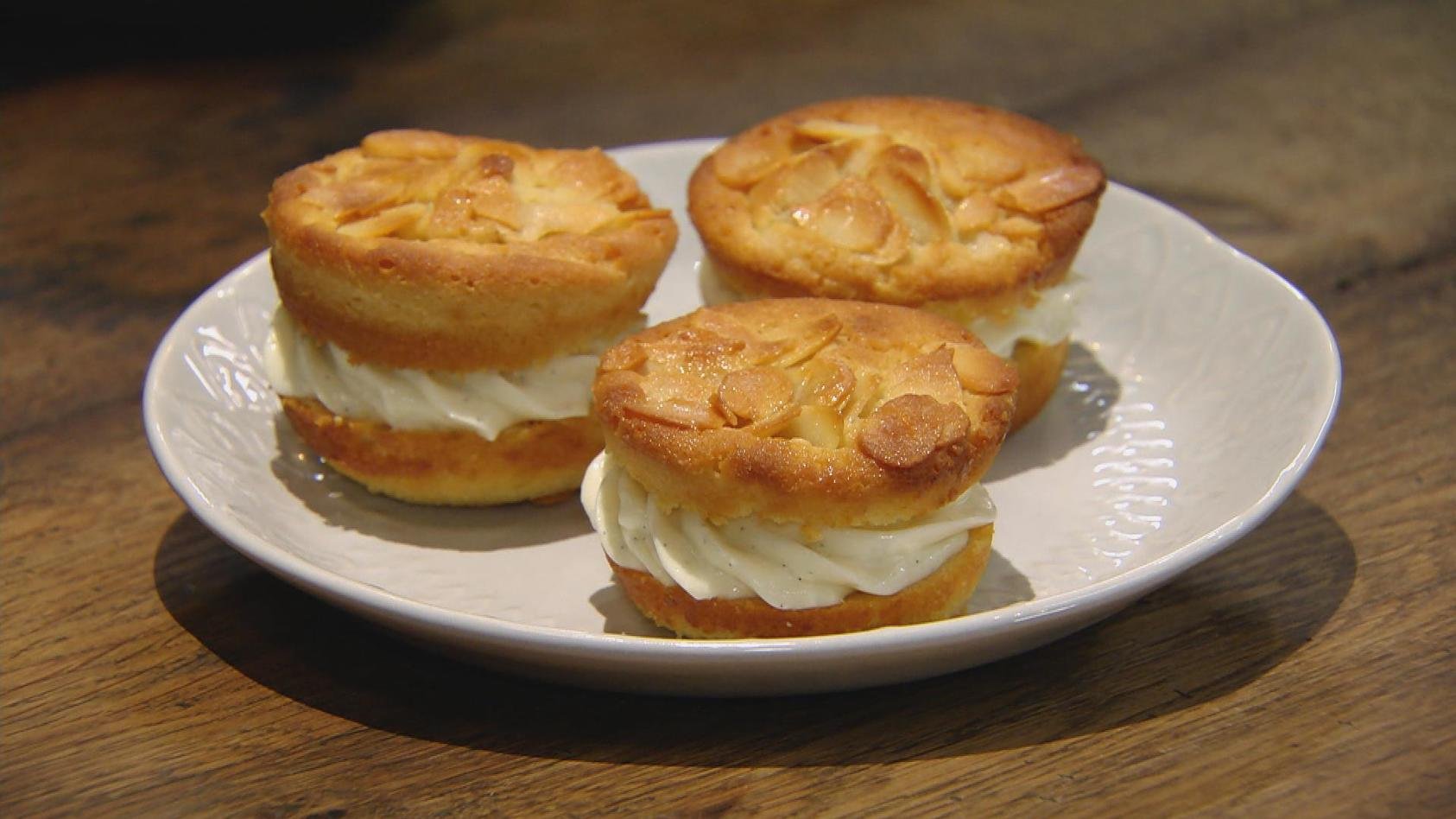 Weggesnackt! Heute gibt's Fingerfood; Bienenstich-Muffins
