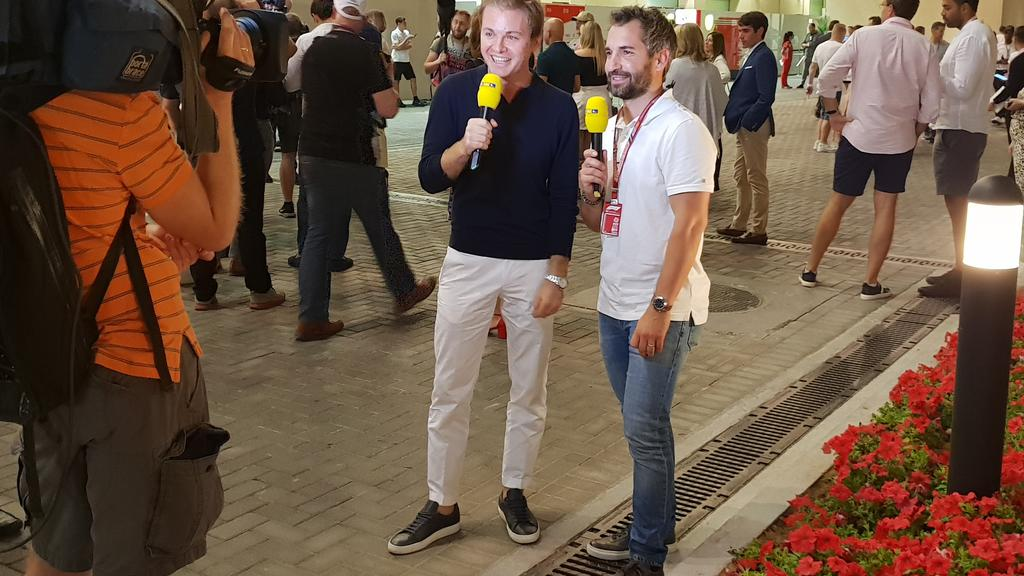 Nico Rosberg und Timo Glock
