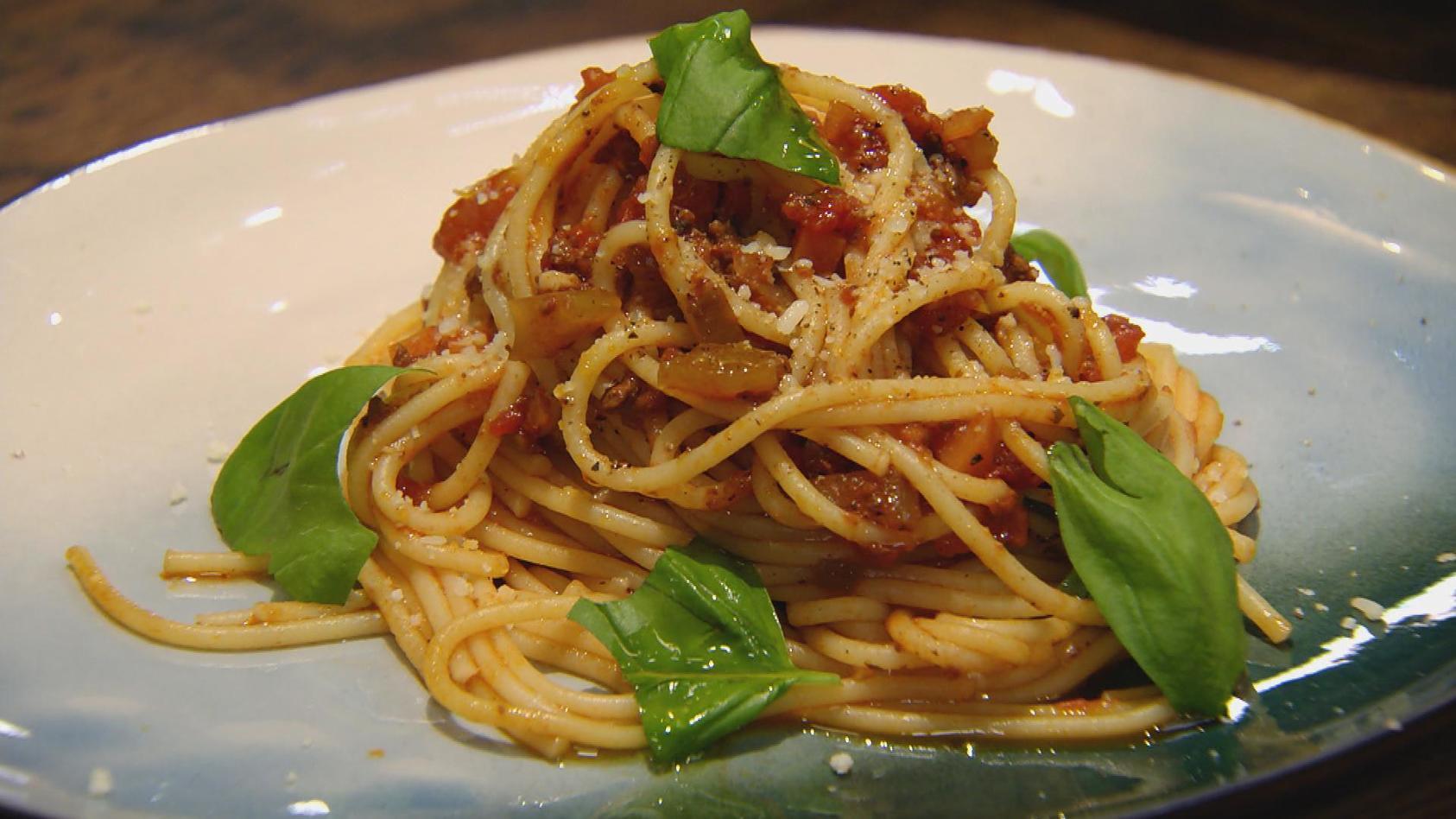 Für Jung und Alt – Das schmeckt immer: Spaghetti Bolognese