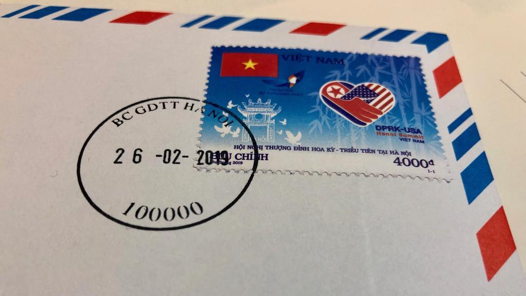 Briefmarke zum Koreagipfel