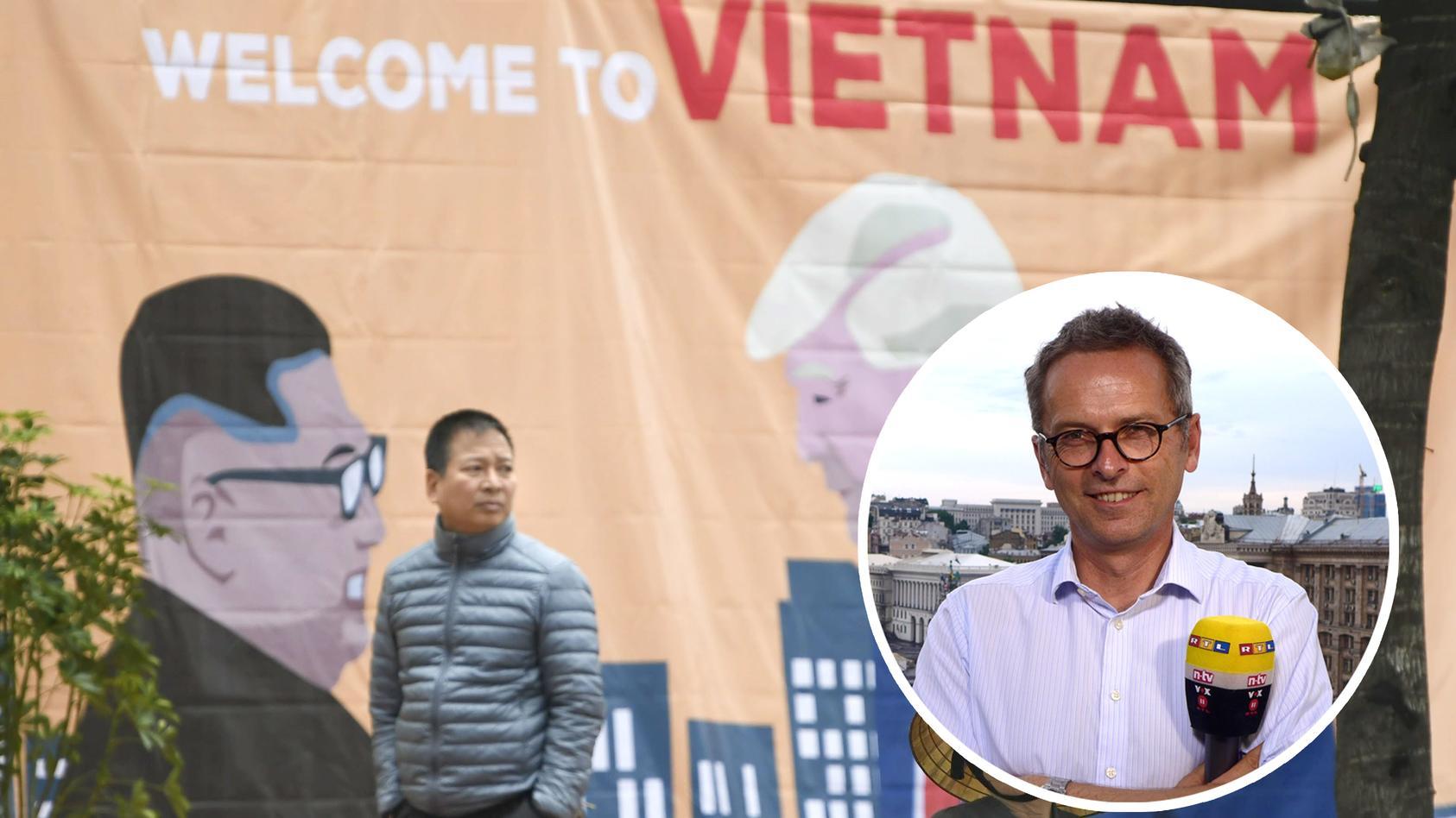 Vor dem Treffen von Trump und Kim Jong Un in Hanoi steht die ganze Stadt Kopf.