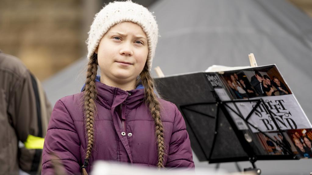 """Vorbild der """"FridaysForFuture""""-Proteste ist die  schwedische Aktivistin Greta Thunberg."""