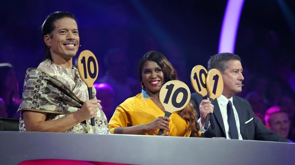 Die Jury von Let's Dance: Jorge Gonzalez, Motsi Mabuse und Joachim Llambi.