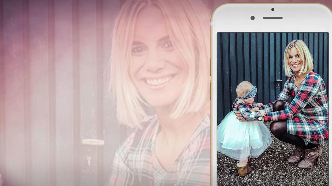 Sandra Kuhn ist ganz verliebt in ihre Tochter Leni.