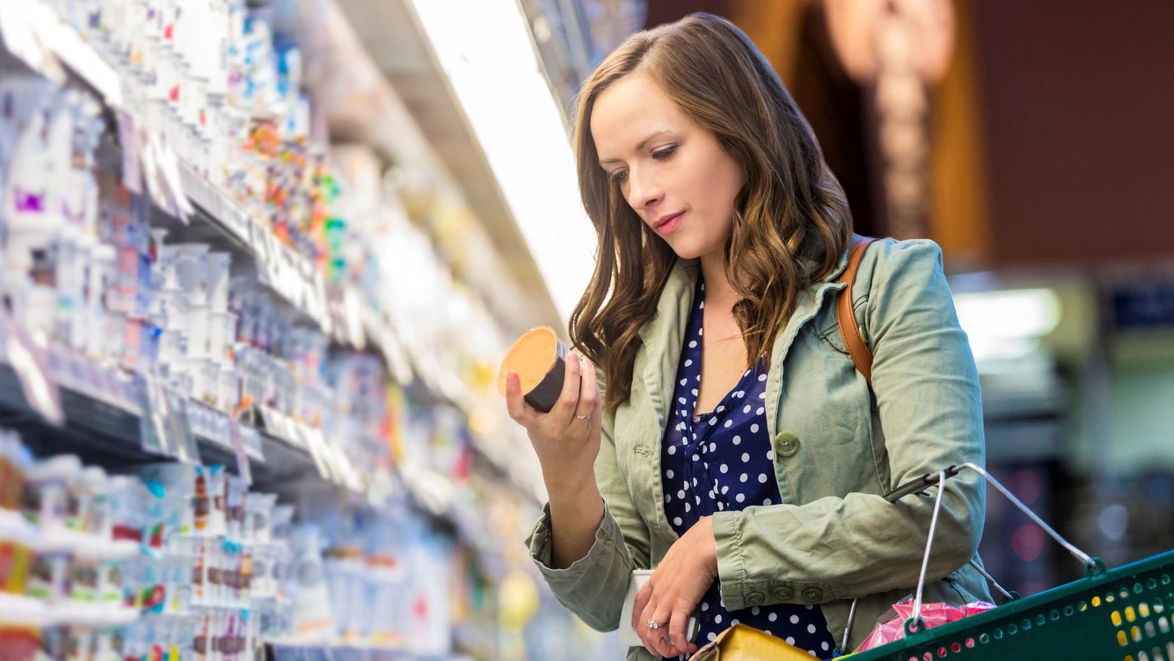 Im Supermarkt sollten Sie darauf achten, dass Sie sich rücksichtsvoll verhalten.