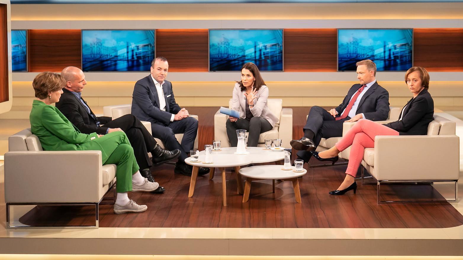 Nach Macrons Appell wollte Anne Will von ihren Gästen wissen, ob sich die EU-Bürger bei der Europawahl Ende Mai für ein stärkeres Europa entscheiden.