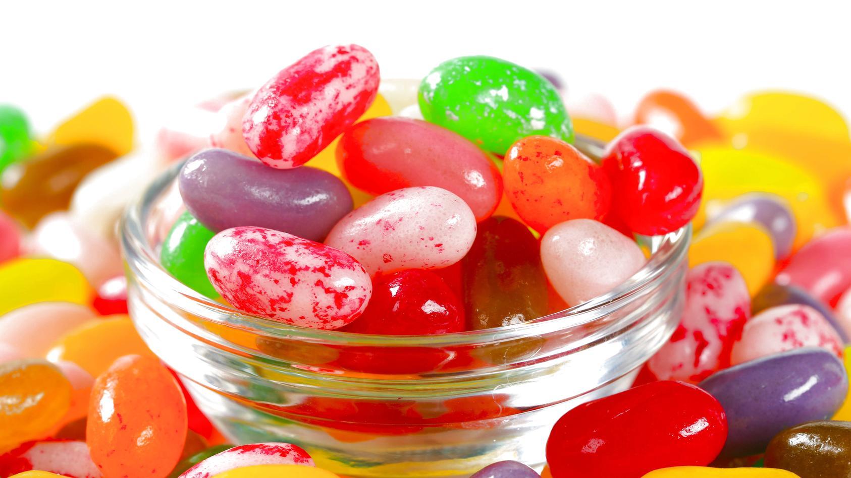 Die kleinen Jelly Beans haben es in sich.