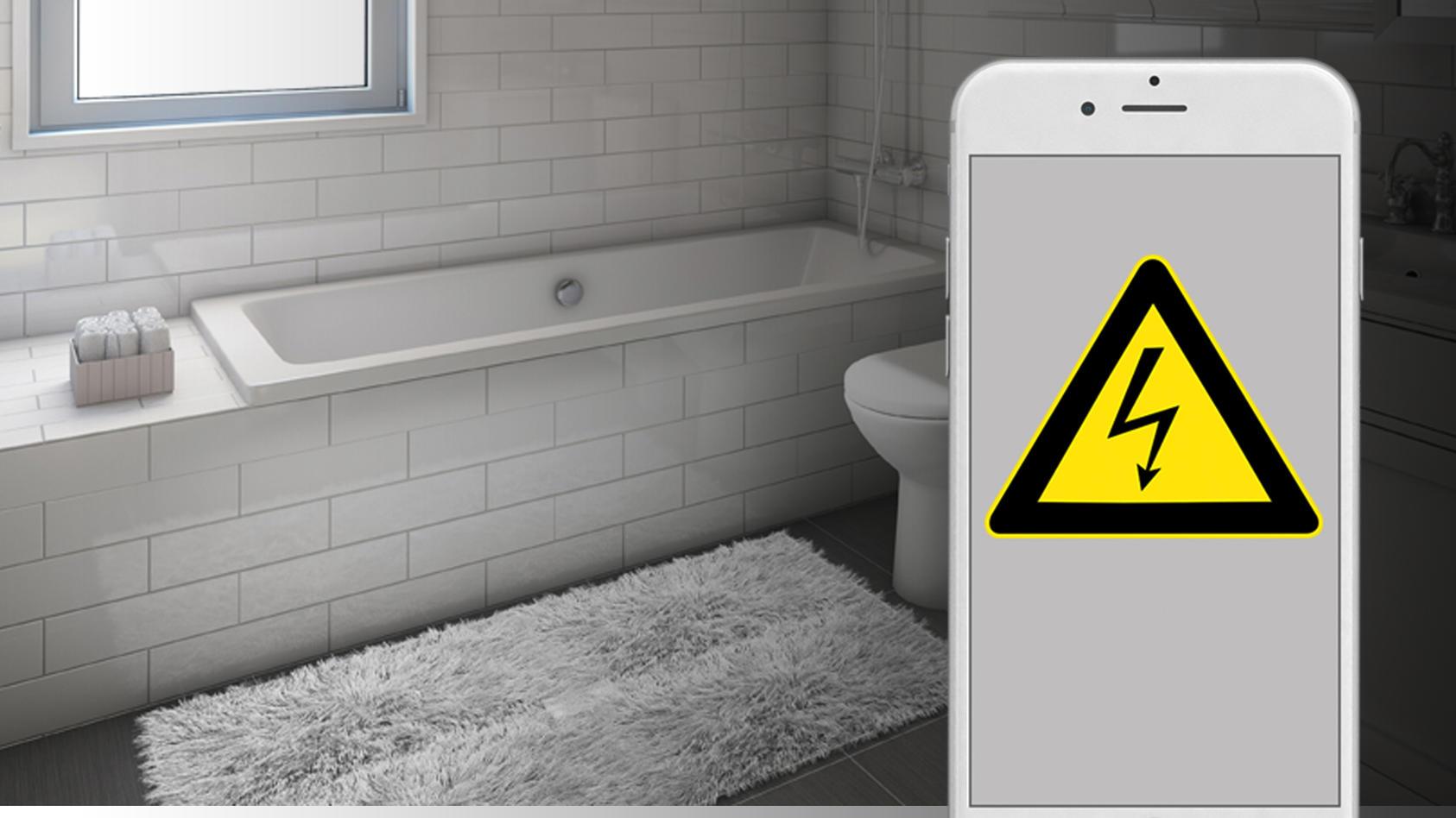 Ein elfjähriges Mädchen aus Österreich ist vermutlich an einem Stromschlag in der Badewanne gestorben (Symbolbild).