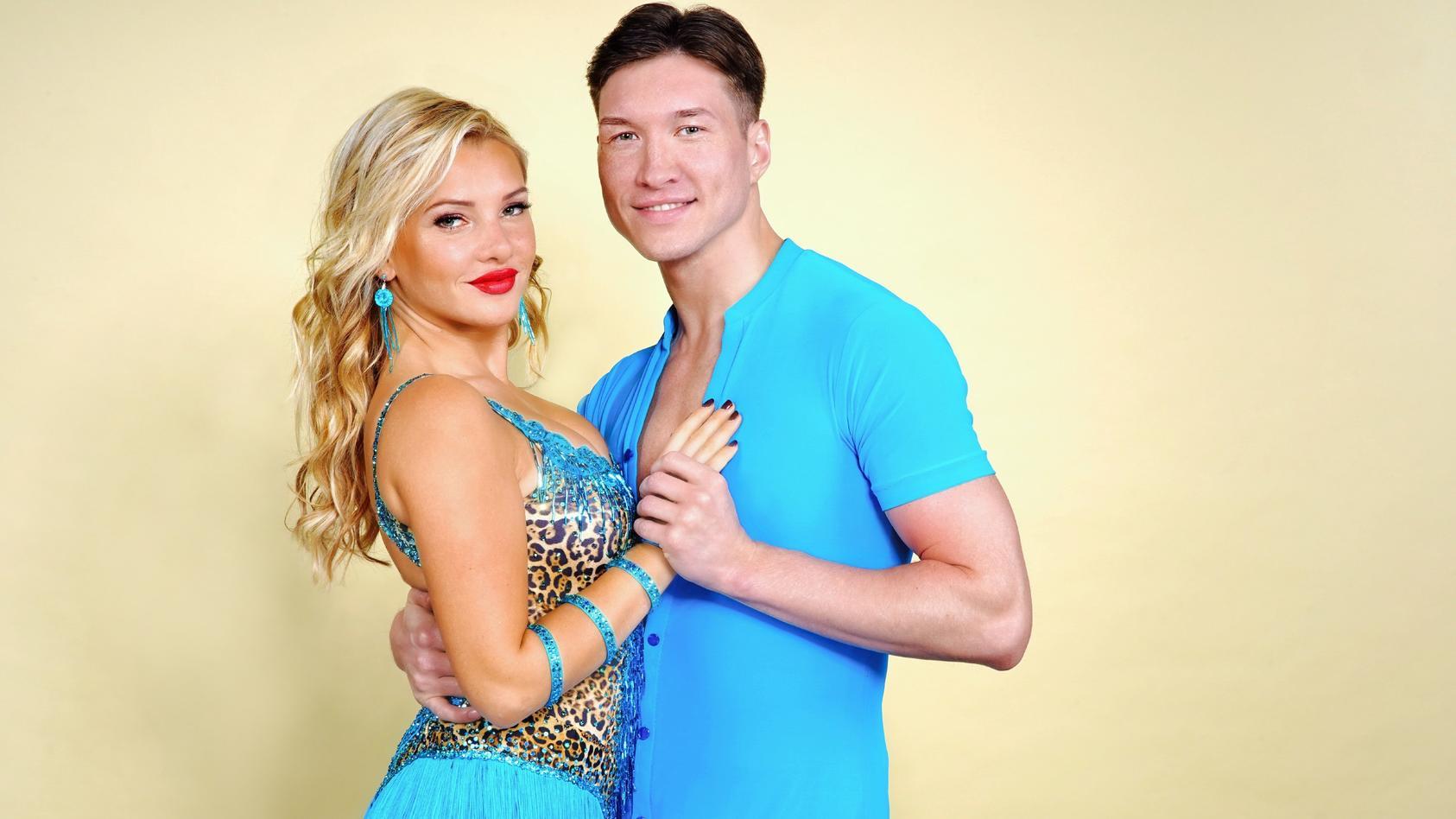 Evelyn Burdecki und Evgeny Vinokurov