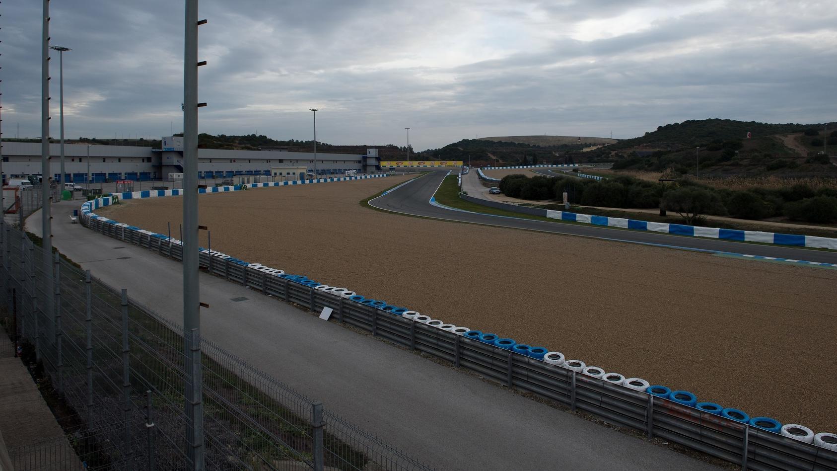 Rennstrecke in Jerez