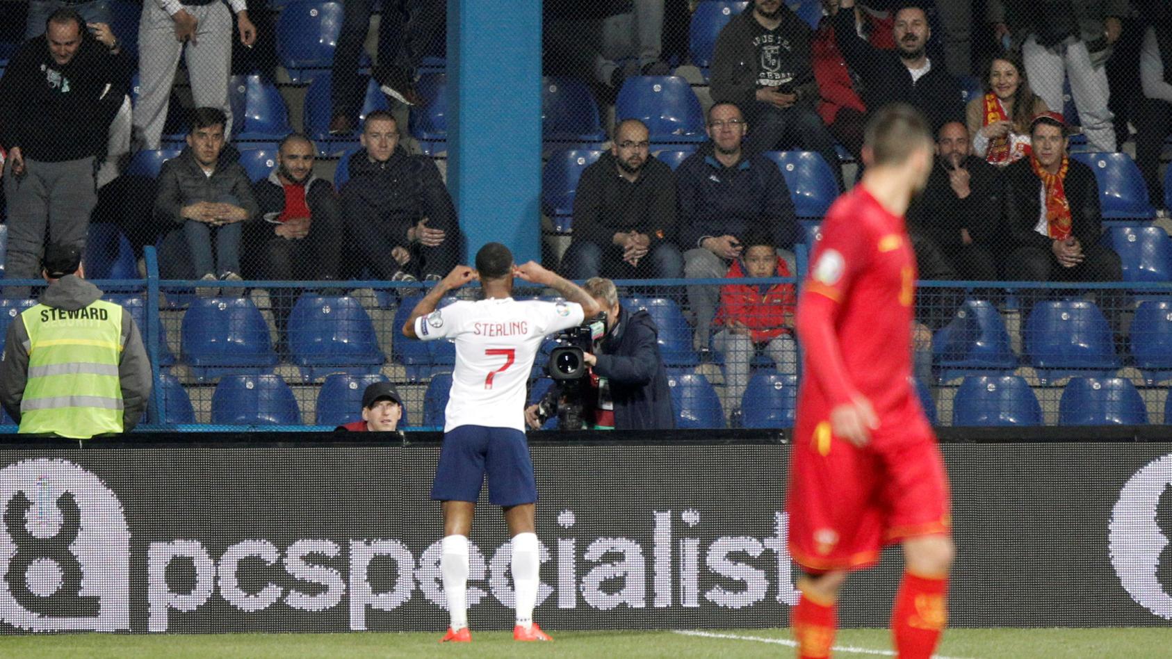 Euro 2020 Qualifier - Group A - Montenegro v England