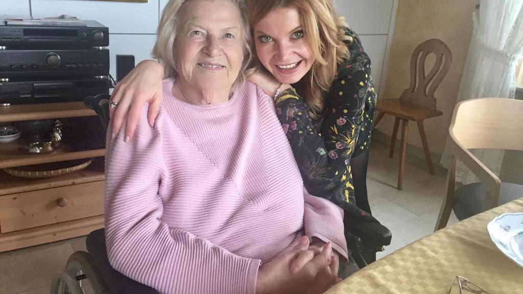 Eva Imhof und ihre Mutter