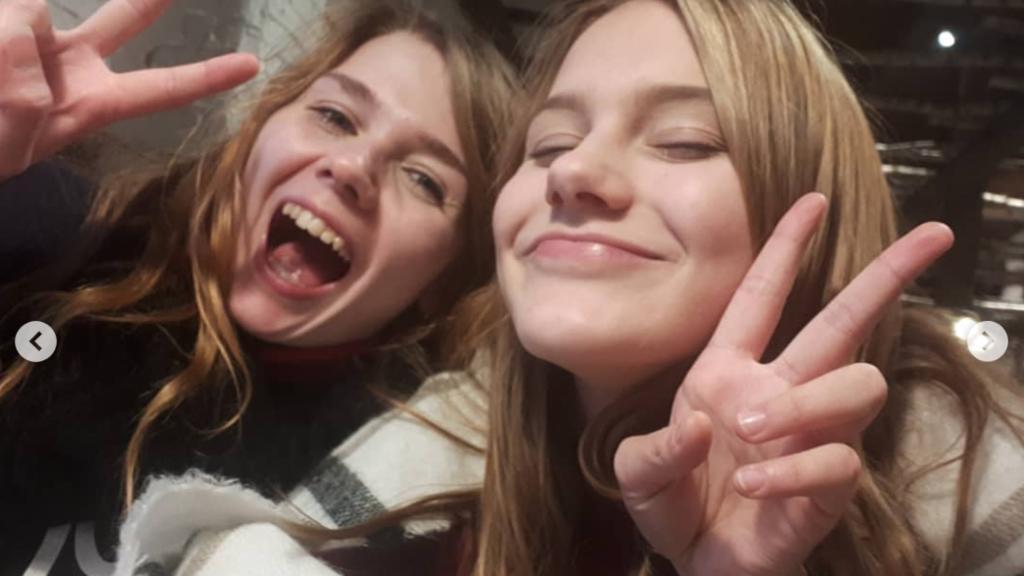 Vivien und ihre Schwester Rebecca