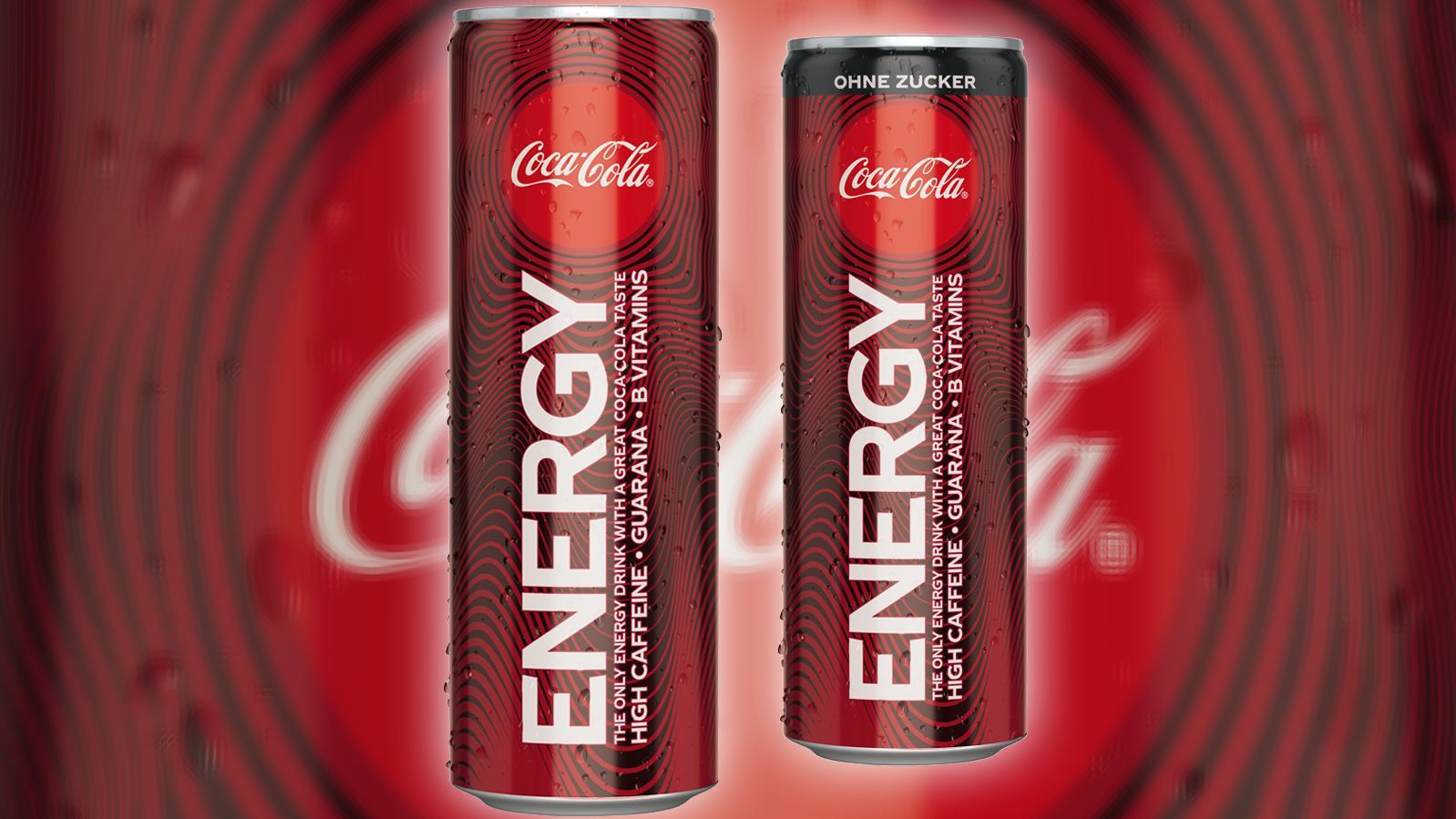 Den Energydrink von Coca-Cola gibt's in einer zuckerhaltigen und einer zuckerfreien Variante.