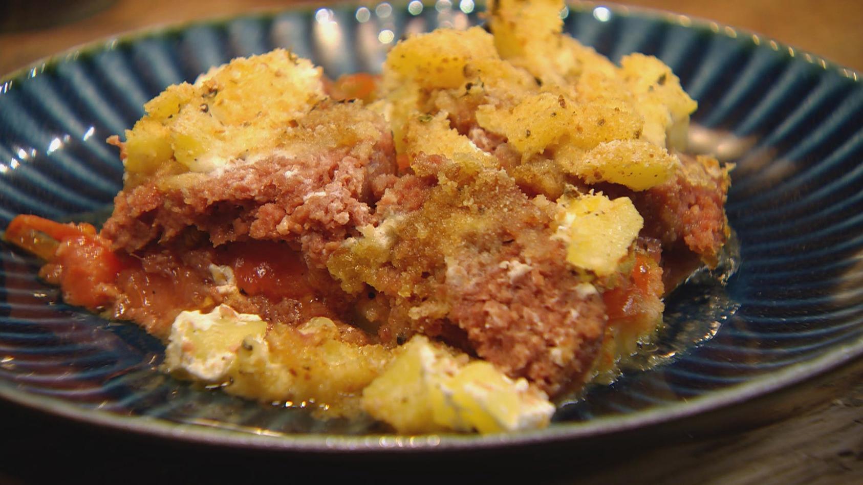 Allererste Sahne – Cremiger geht´s nicht: Kartoffel-Tomaten-Auflauf