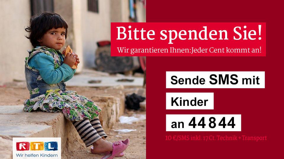 """Spendentafel """"RTL - Wir helfen Kindern"""""""