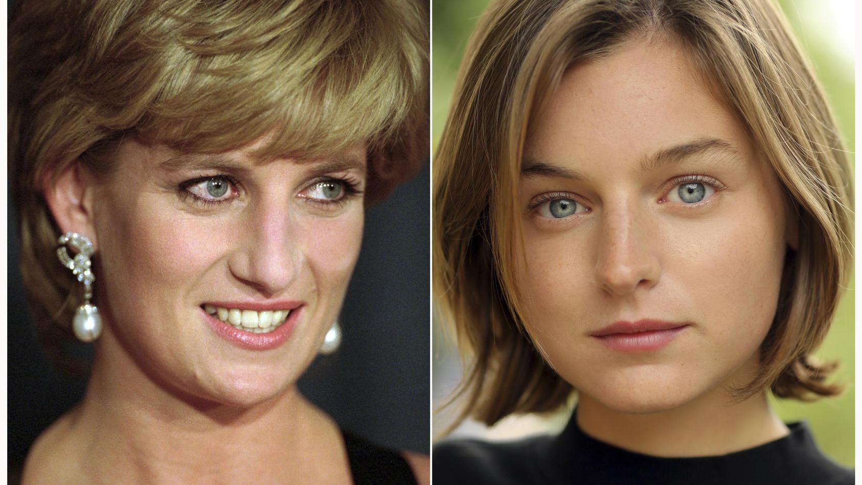 """Sie spielt Prinzessin Diana in der vierten Staffel von """"The Crown"""": Newcomerin Emma Corrin."""
