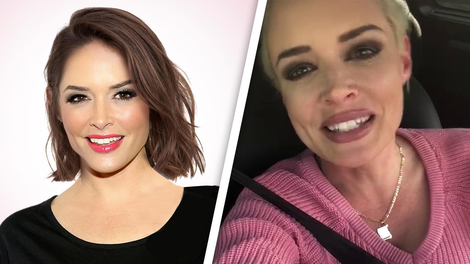 So Reagiert Daniela Katzenberger Auf Unsere Photoshop Frisuren