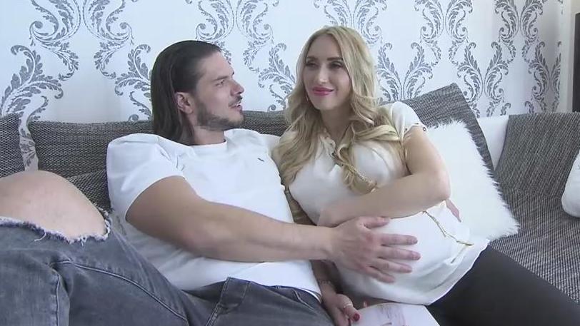 Nach der Hochzeit jetzt das Baby: Antonio und Helen Majic erleben die perfekte Lovestory.