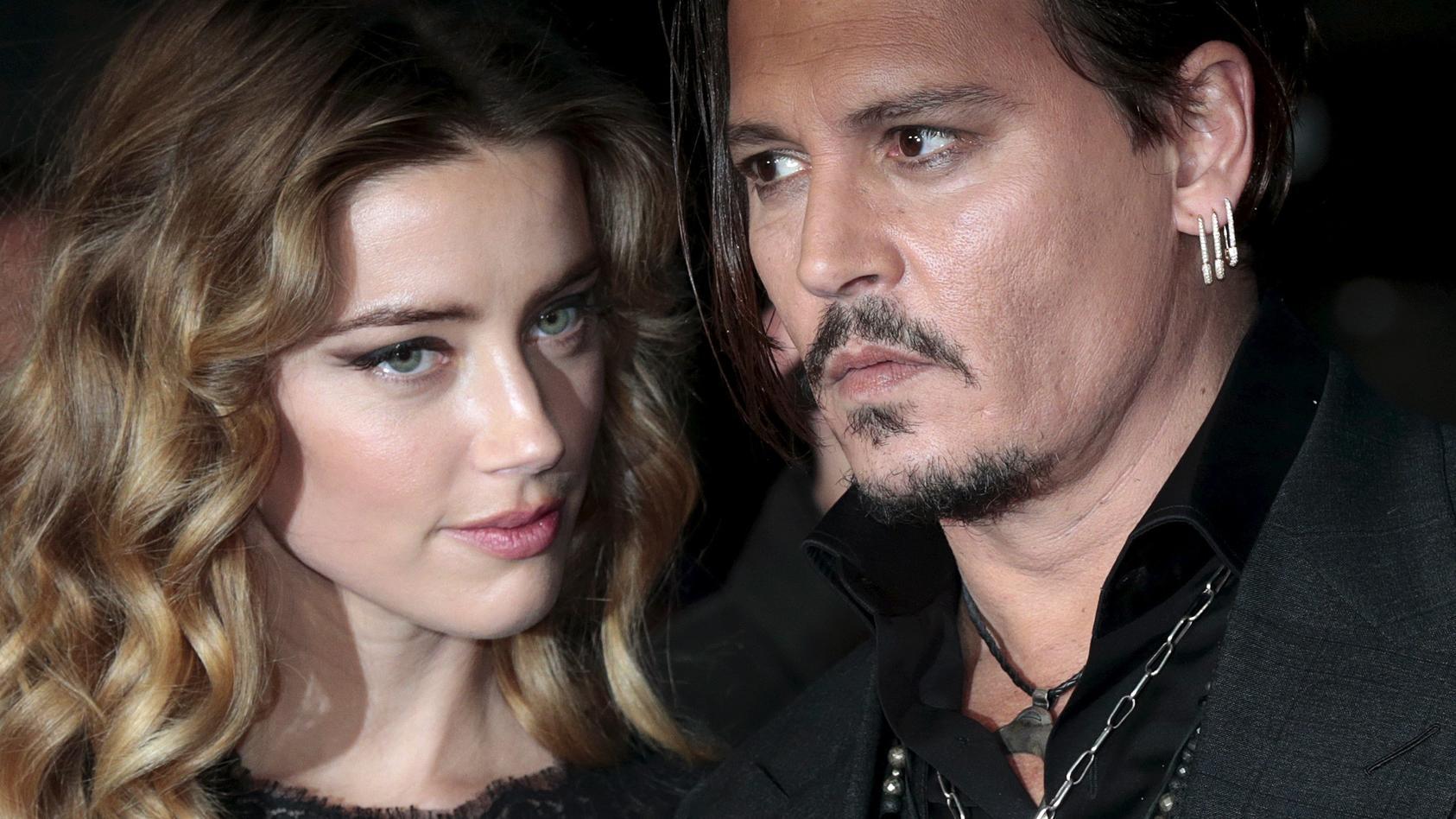 Amber Heard und Johnny Depp waren nur knapp ein Jahr verheiratet.