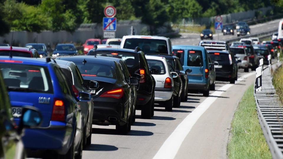 Am Osterwochenende wird es auf Deutschlands Autobahnen voll.