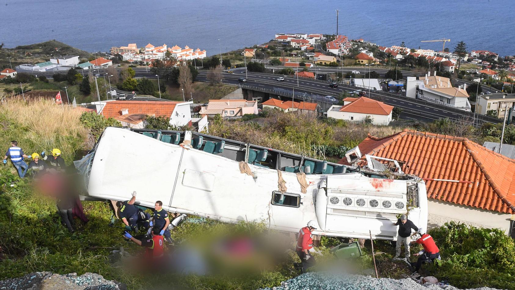 Bei dem Unglück soll eine Gruppe deutscher Touristen ums Leben gekommen sein.