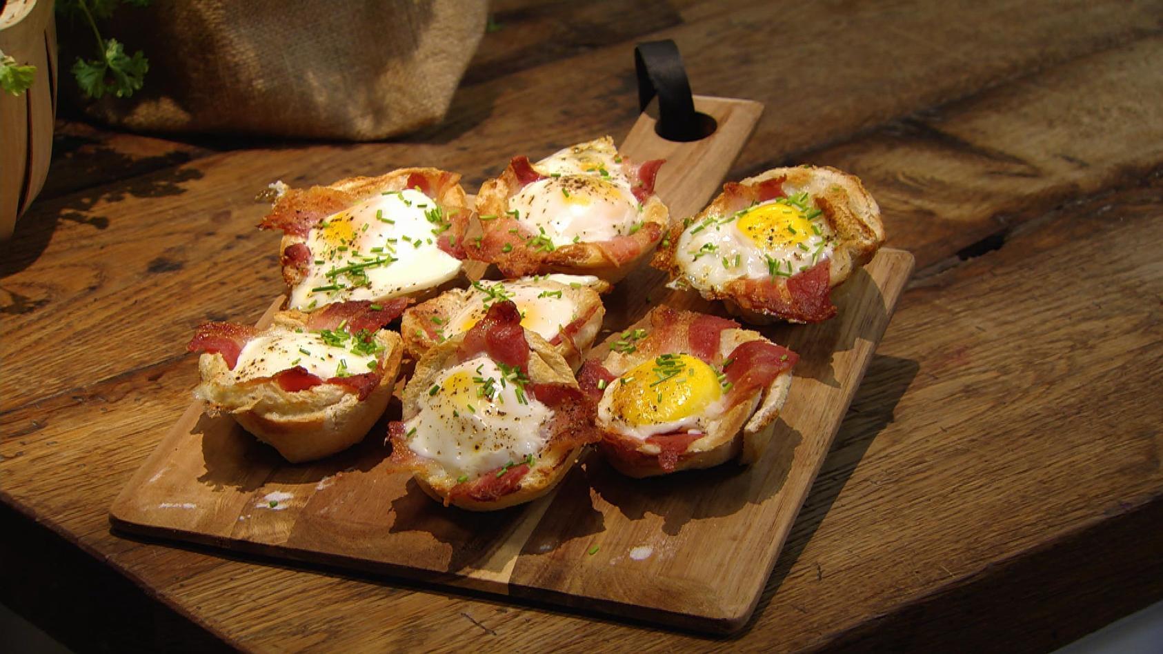 All You Can Eat – Schlemm' Dich glücklich!: Toastmuffins mit Ei und Bacon