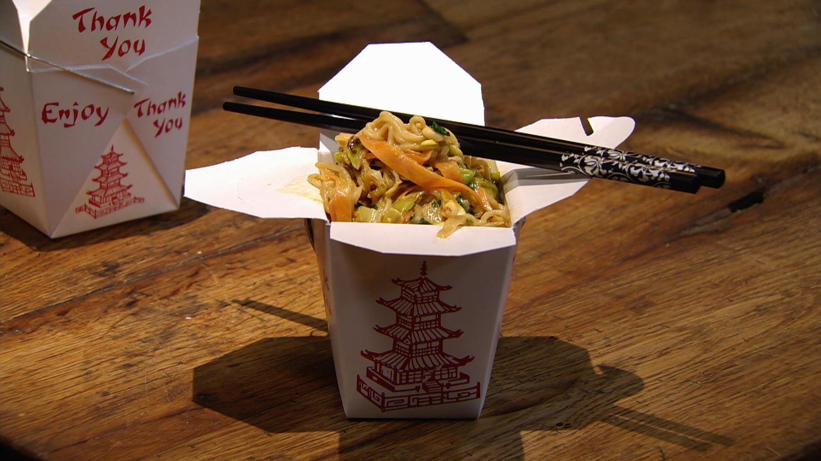 Streetfood – Zwischenstopp für gutes Essen; Pikante Thai-Pasta to Go