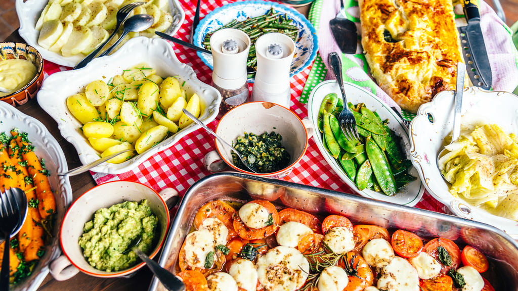 Antipasti sind super für Vegetarier geeignet.