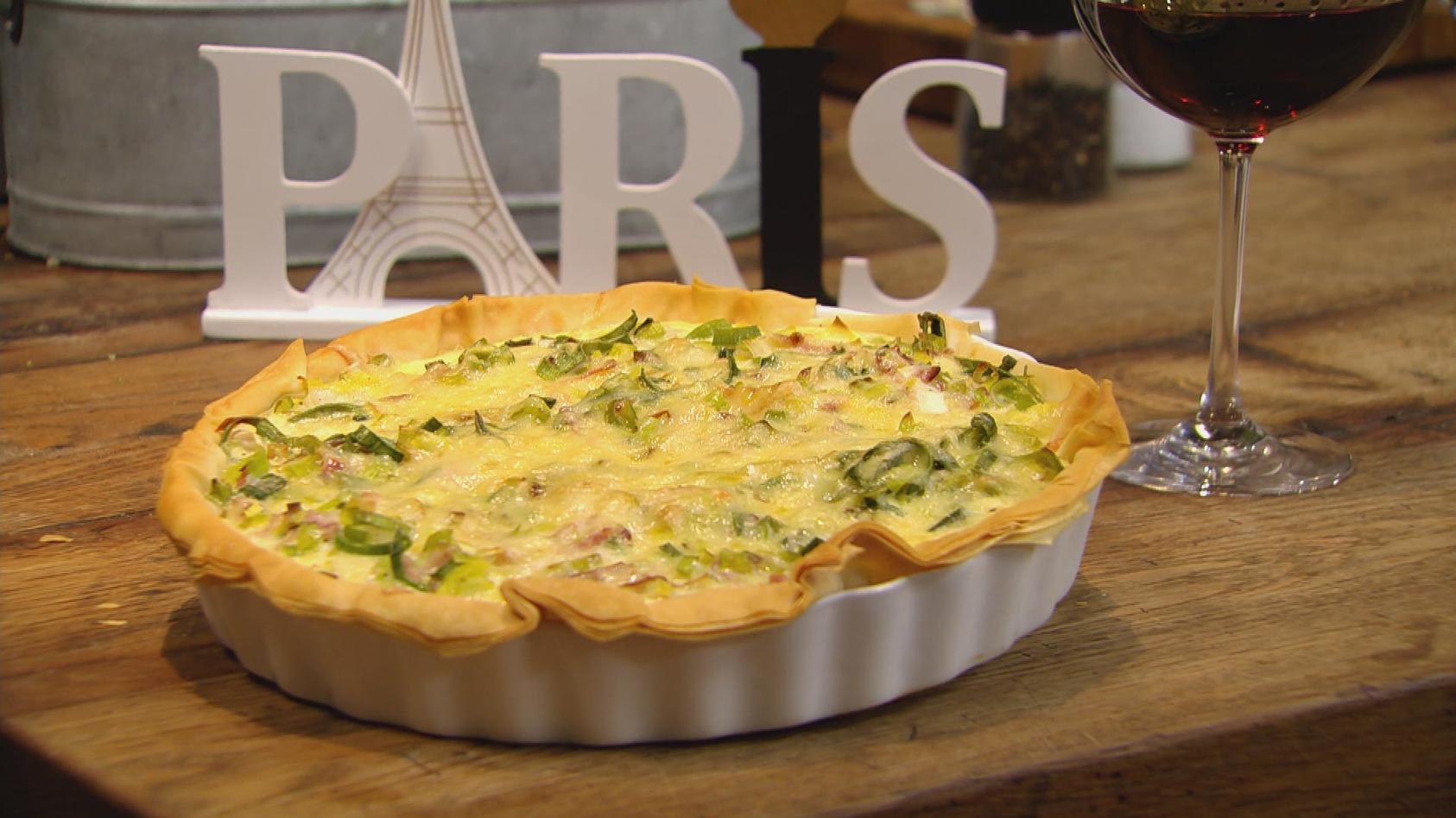Ab in den Urlaub! Kulinarische Grüße aus Frankreich: Quiche Lorraine