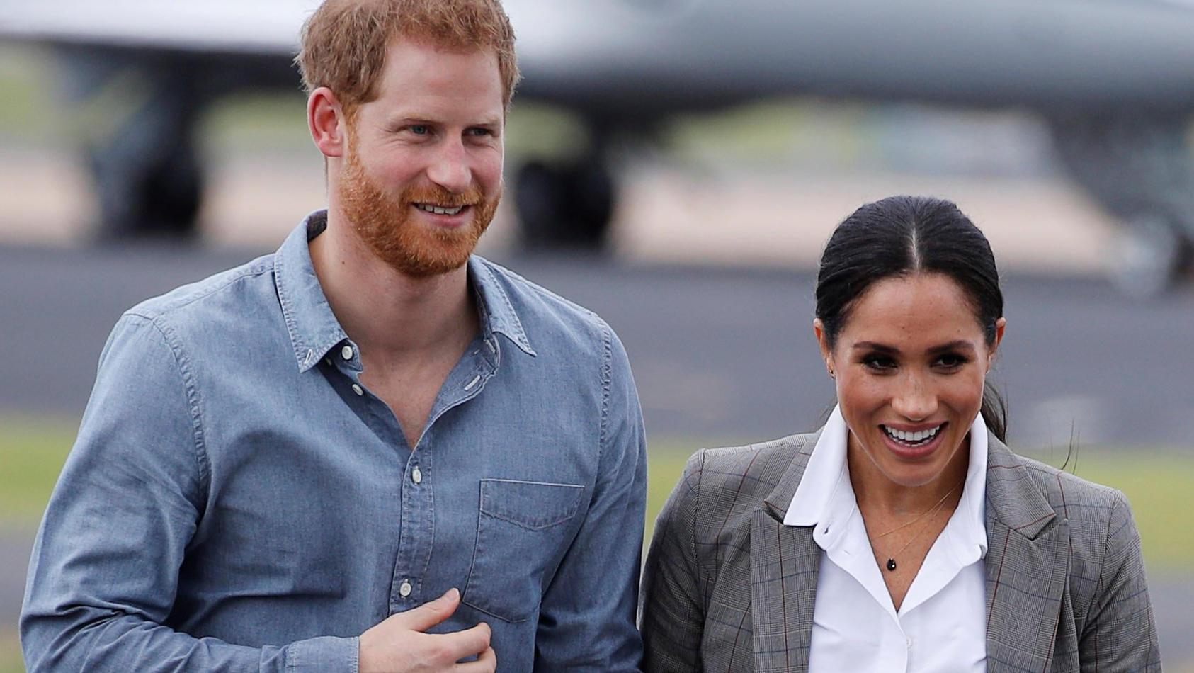 Prinz Harry und Herzogin Meghan wohnen seit April im Frogmore Cottage
