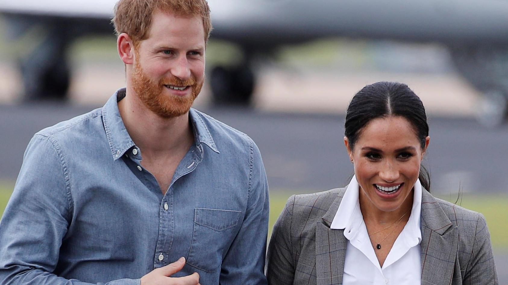 Prinz Harry und Herzogin Meghan sind seit Anfang Mai frisch gebackene Eltern.