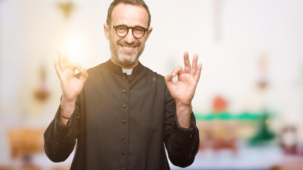 Priester sollen bald Follower von sich und der Kirche begeistern.