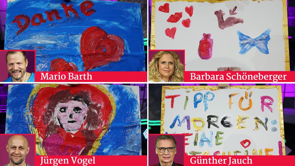 Die vier Muttertags-Bilder
