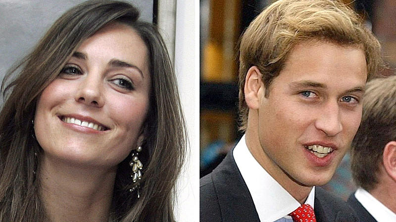 Vor zehn Jahren lernten Kate und William sich kennen.