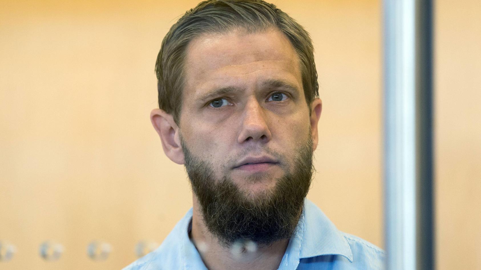 Sven Lau vor dem Düsseldorfer Landgericht.
