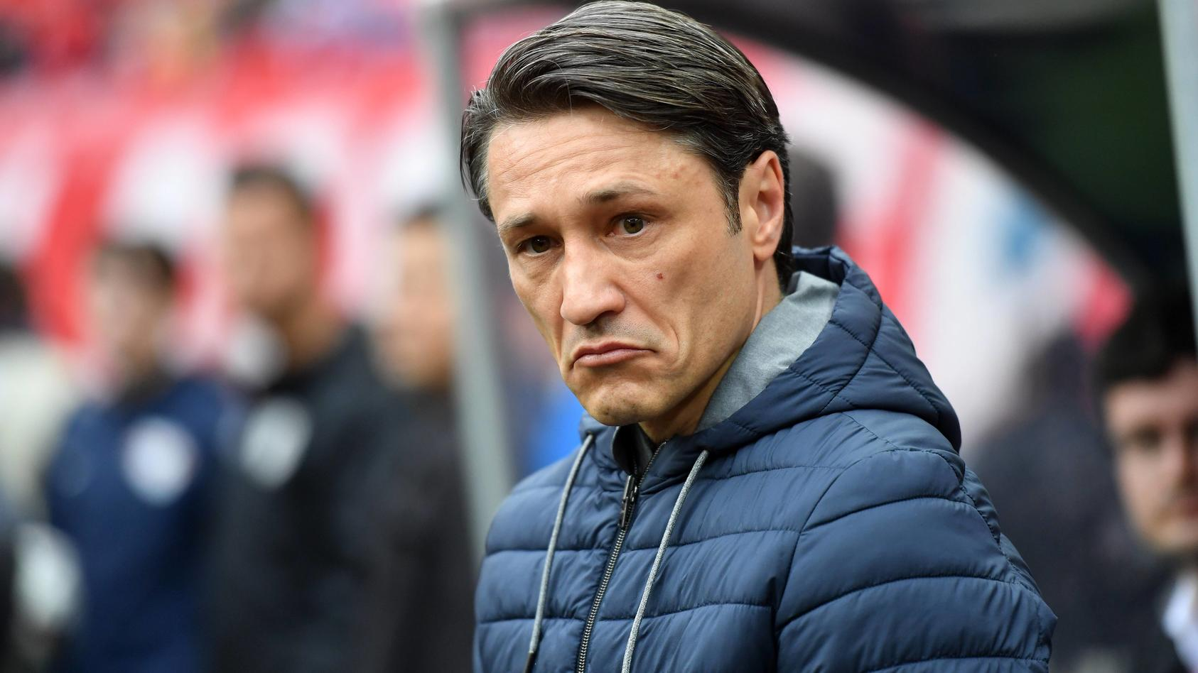 Niko Kovac Trainer FC Bayern kurz vor Spielbeginn RB Leipzig FC Bayern München 1 Bundesliga 201